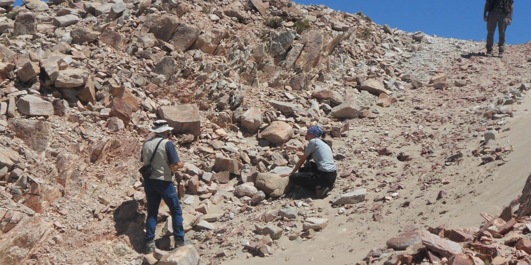 geólogos