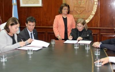 FIRMA DE CONVENIO DE REHABILITACION