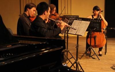 Alumnos del Instituto de Música durante una presentación