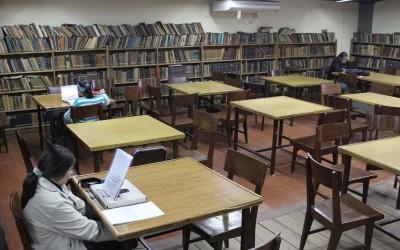 Biblioteca de la Facultad de Ciencias Económicas-web