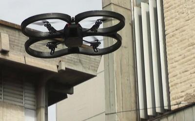 Drones en la Facultad de Ciencias Exactas y Tecnología-Web