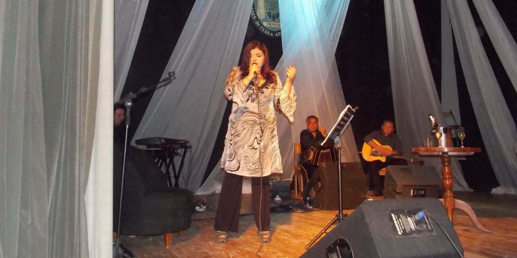 Mirta Carrizo y su show de tango