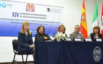 Acto de apertura de las Jornadas Internacionales en Psicología Educacional-web
