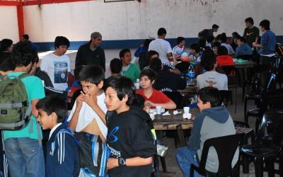 Comedor en el Gymnasium