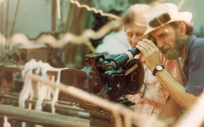 Gerardo Vallejo filmando para web
