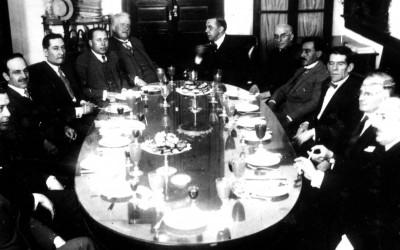 Rector y Consejo -década del 1910