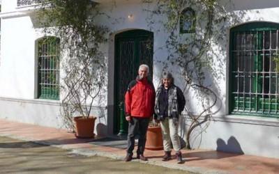 Sampietro y Monné tras los restos de Lorca-Gentileza diario La Nación