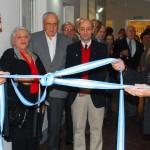 El vicerrector José García participó anoche junto con Salvarezza y la directora del Conicet-Tucumán, Elisa Colombo, de la inauguración de las nuevas instalaciones de la sede centro, ubicada en Crisóstomo Álvarez 722.