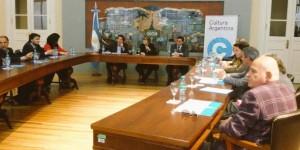 Firma de convenios con los ministerios de Educación y de Cultura