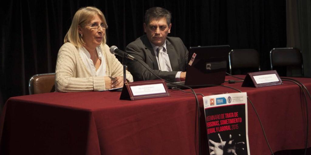 Alicia Bardón y Daniel Posse fueron los encargados de inaugurar el ciclo de charlas.