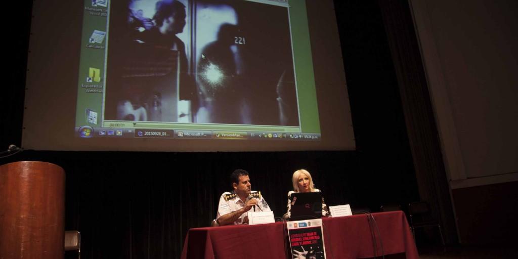 Entre los disertantes se destacaron las ponencia de la directora del Programa Universitario de Educación Sexual Integral (PUESI), Carolina Moreno, y del comisario principal del Área Trata de Personas Policía de la Provincia.