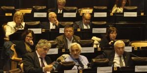 Bardón durante la sesión del Plenario-web