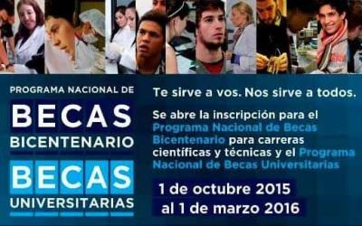 Becas bicentenario web
