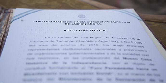 Acta Constitutiva del Foro