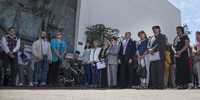 Acto en la Casa de la Independencia