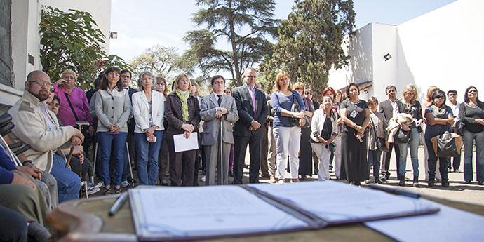 Ceremonia  en la Casa de la Independencia de Tucumán