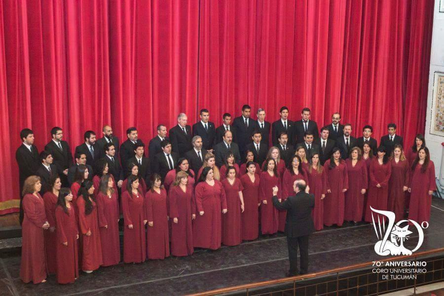 Coro Universitario de Tucumán foto facebook