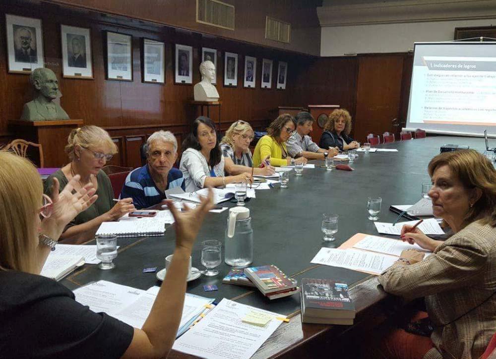 reunión con secretarios académicos-foto secretaría académica