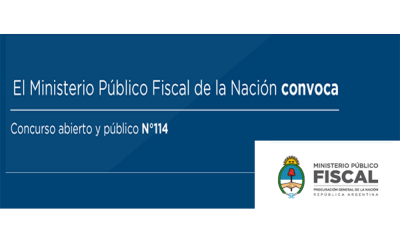 concurso MPF de la Nación
