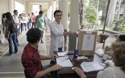 VOTACION ESTUDIANTIL 2018 2