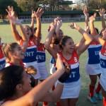 Las Campeonas celebrando el Título - Foto JUR