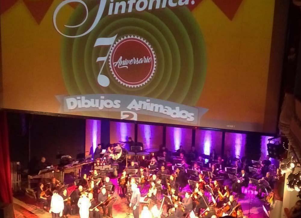concierto la sinfónica y los dibujos animados
