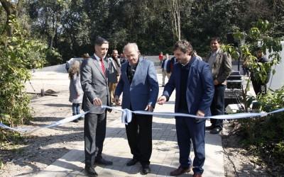 Inauguración de Obras en el Jardín Botánico de Horco Molle foto Luis Ferrando
