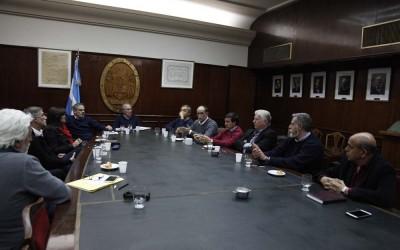 Reunión del Consejo de Decanos foto José Luis Saldías