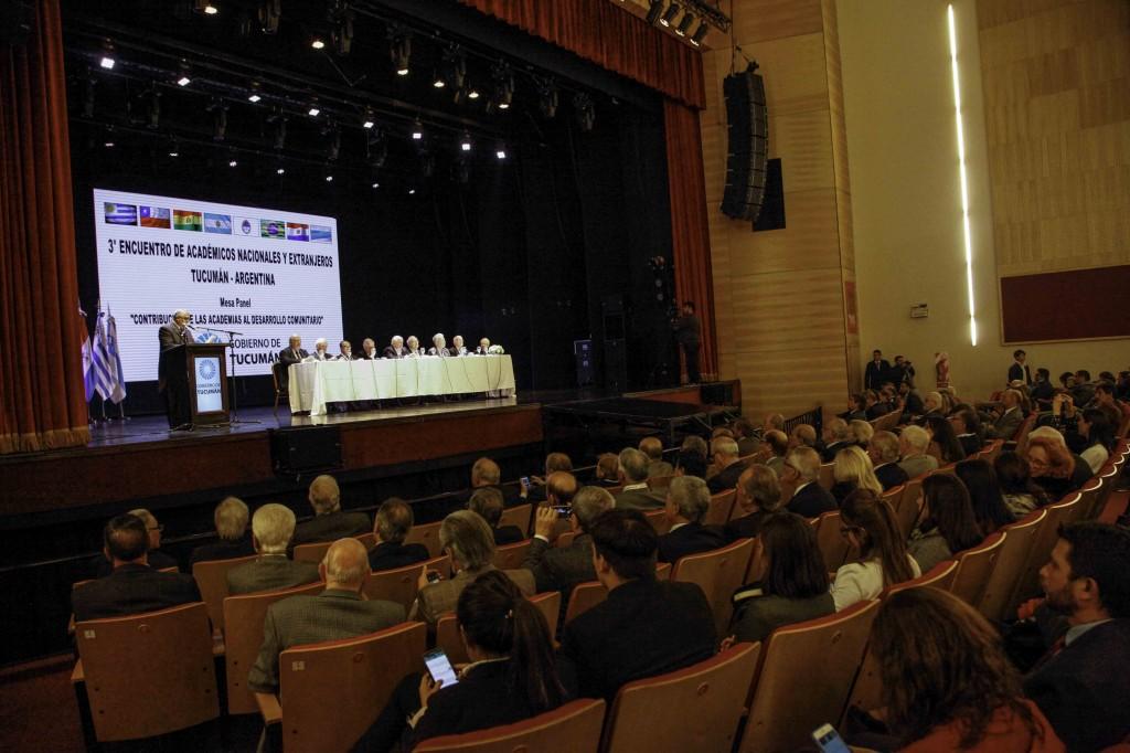 Encuentro de Académicos en el TMS foto Miguel Armoa