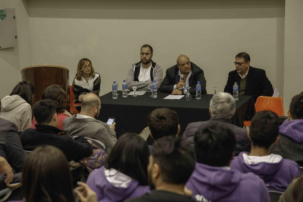 Lanzamiento Cátedra Libre de Reforma Universitaria - Foto Miguel Armoa