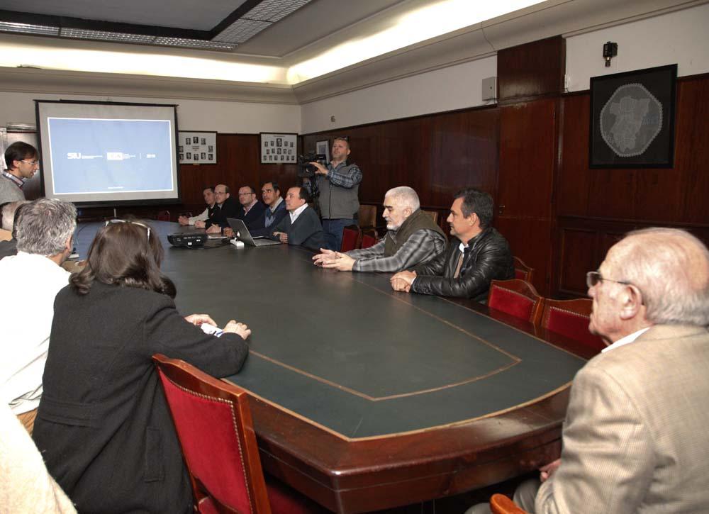 Presentación SIU en el Rectorado-web