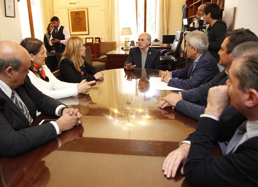 Reunión con Beatriz Avila - Fotografía Luis Ferrando