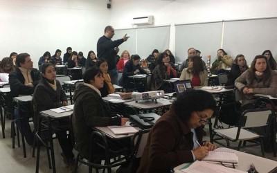 Capacitación a docentes foto Secretaría Académica