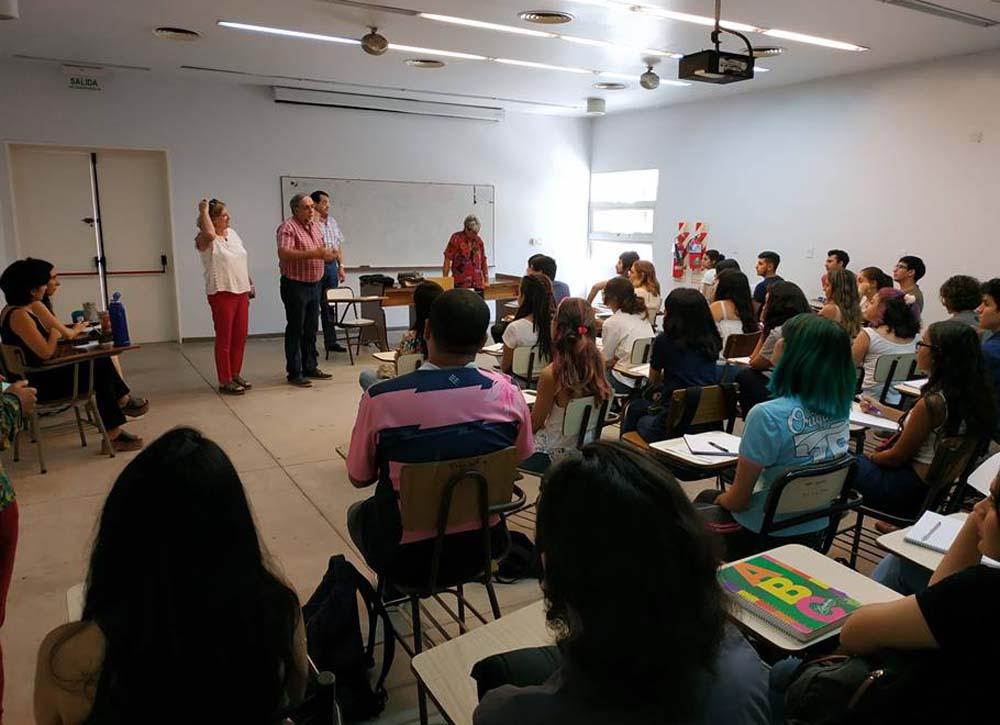 Jornada de iniciación en Filosofía y Letras foto Facultad de Filosofía y Letras