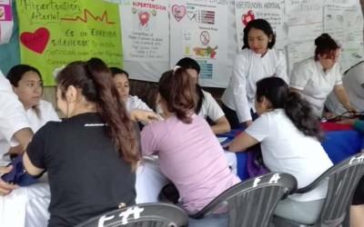 jornada en famaillá-foto escuela de enfermería